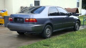 Parting out 1995 Honda Civic Sedan 1.5L -ALL PARTS AVAILABLE!!! London Ontario image 1