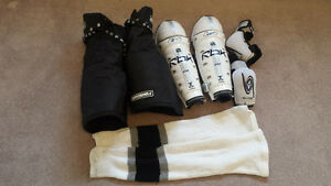 Hockey Pants, Shin Pads, Socks, Elbow Pads