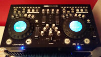 Table Tournante - DJ Mixing TableGemsound CDM200 Dual CD Mixer