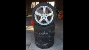 ***REDUCED*** Lexus wheels, rims and tires 215/45zr17 91w