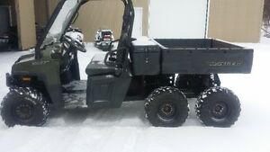 6x6 side by side ranger 2010 de polarise