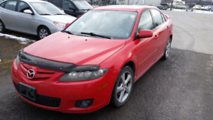 2007 MAZDA 6 LEADER SEATS  SAFETY only $2550