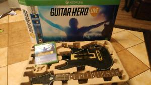 JEU GUITAR HERO LIVE XBOX ONE OU ÉCHANGE CONTRE JEU OU MANETTE