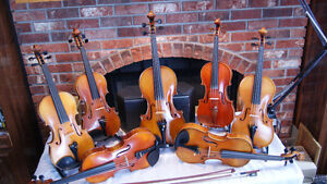 QUALITY HANDMADE VIOLINS, FIDDLES AND BOWS