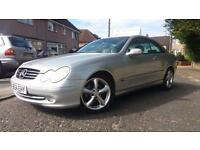 2004 54 MERCEDES BENZ CLK 270 CDi AVANTGARDE AUTOMATIC.STUNNING LOOKING CAR.FSH.
