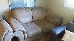 couch for sale - loveseat style. need gone now!