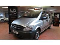2011 MERCEDES BENZ VITO 113 CDI 2.1cc Crew Bus LWB 6 Seater AC Bluetooth