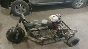 Go cart, trike, three wheeler 9 hp