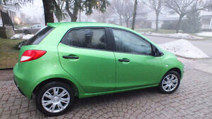 2012 MAZDA 2 (w/ winter tires and extra set of rims)