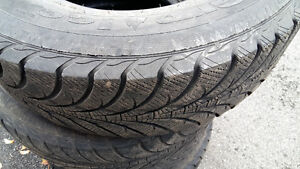 Good-year winter tires 235/70/R16 4 for  $220 West Island Greater Montréal image 4