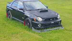 2002 subaru WRX Turbo awd  spun bearing