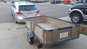 Driver with Utility Trailer Moving/Delivery Service - $40 per hr