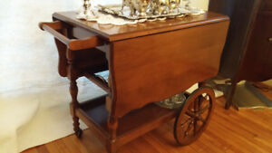 Tea Wagon - a lovely piece to display your dishes