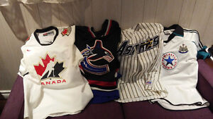 Team Canada, Canucks and Newcastle FC Jersey
