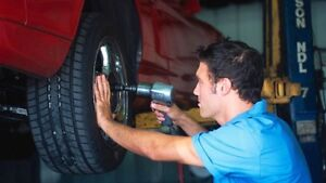 TIRE REPAIR OR CHANGE SERVICE