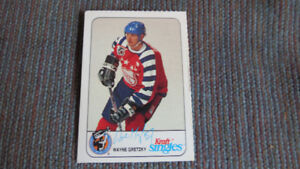Wayne Gretzky Kraft single 1992 NHL card