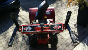 "Mastercraft 5/24"" Snowblower.. trade for small HP canoe outboard"