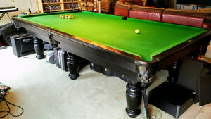 Pool Table - 5'x10' Dufferin - Italian Slate!