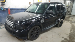 2008 Land rover rang  rover sport supercharged