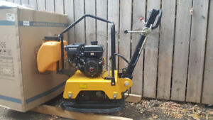 3 BRAND NEW plate compactors for sale. INDIVIDUAL PRICING