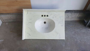 Synthetic Marble Sink Top