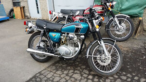 Honda CB350/ CL350 1972 2 Motos en pieces