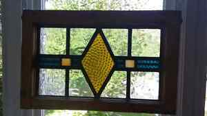 Stained glass window hangers