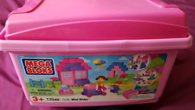 Mega Blocks Pink Box