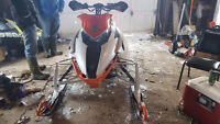 2012 Arctic Cat F800 Sno Pro Limited trade for MX, or VW and $