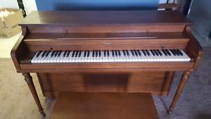 Chopin Wooden Upright Piano w/stool