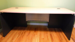 Large commercial grade office desk (like new)