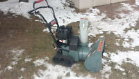 2 snowblowers for $350