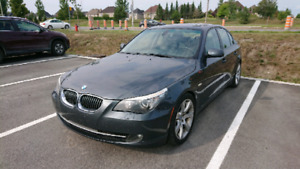 BMW 535i Sport Package, 6-speed manual, RWD.