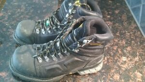 CAT Steel Toe boots regulation size 8 USA