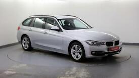2015 BMW 3 Series 1.6 316i Sport (136bhp) Touring Petrol silver Automatic