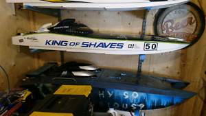 King of shaves 58 inch rc boat
