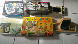 vinatage toys and games $100 takes all. or $25 each