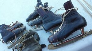 Vintage Leather Skates 60+ yrs old Strathcona County Edmonton Area image 4