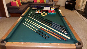 Pool Table 1 inch slate Made in Canada