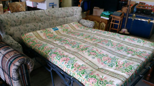 Sofa Bed.  Great for Fishing or Hunting Camp.