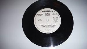 Paul McCartney 45 RPM Record