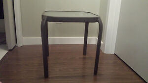 ***Glass Top Patio Side tables***