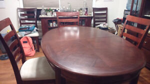 dining room table ( 4 chairs for free)