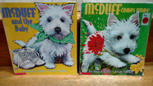 2 McDuff the dog picture books by Rosemary Wells