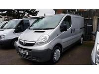 2014 Vauxhall Vivaro Only 48000 Miles Choice Of Two Metalic Silver Vans In Stock
