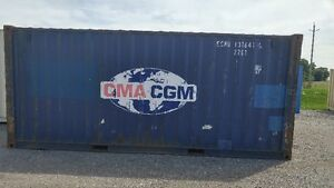 Used 20' Sea/Storage/Cargo Containers