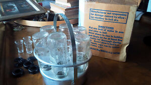 Vintage Baby Bottle Sterilizer, with Vintage Pyrex Bottles Kitchener / Waterloo Kitchener Area image 2