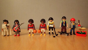 Playmobil 7 people for sale