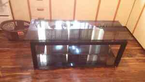 Glass TV stand or glass coffee table