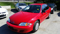 2002 Chevrolet Cavalier Cert and E-tested *LOW KM*